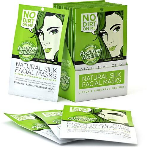 fuss free cleanse exfoliate masker