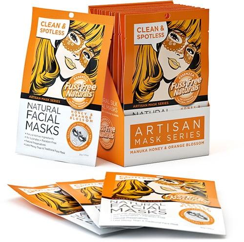 fuss free manuka honey orange masker