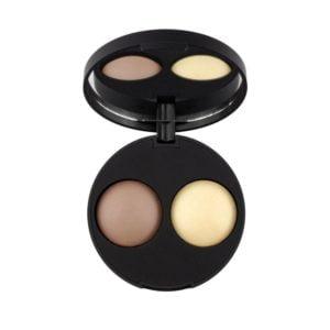 inika makeup inika organic baked contour duo teak