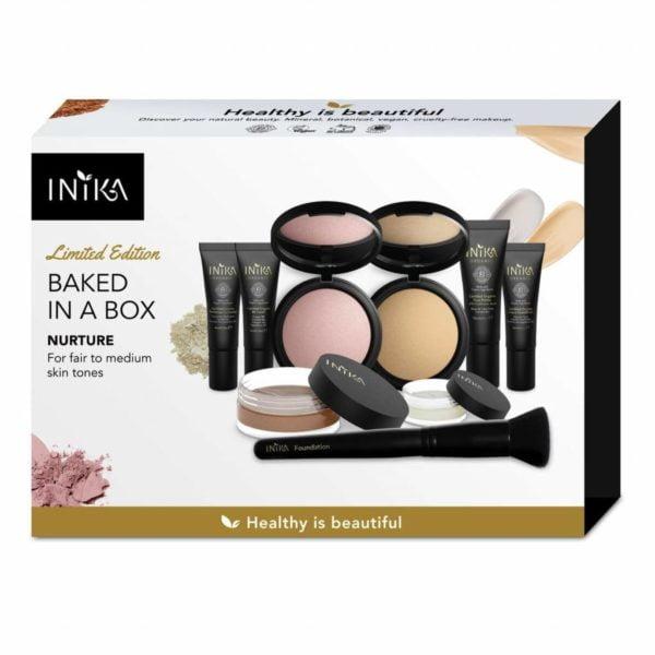 inika makeup inika organic baked in a box nurture
