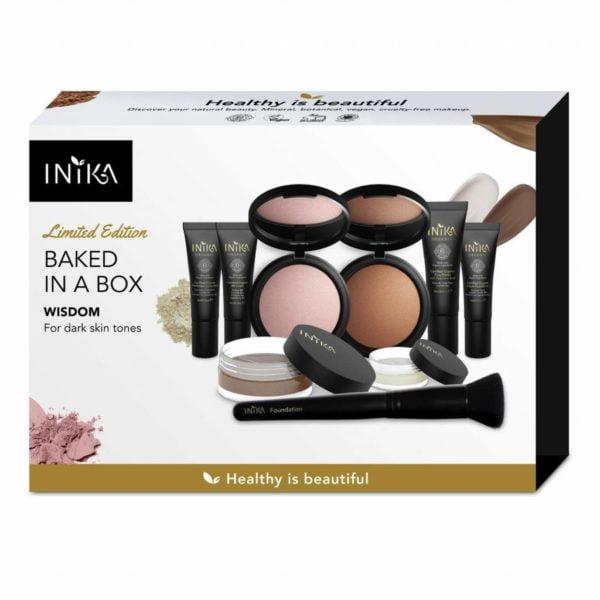 inika makeup inika organic baked in a box wisdom