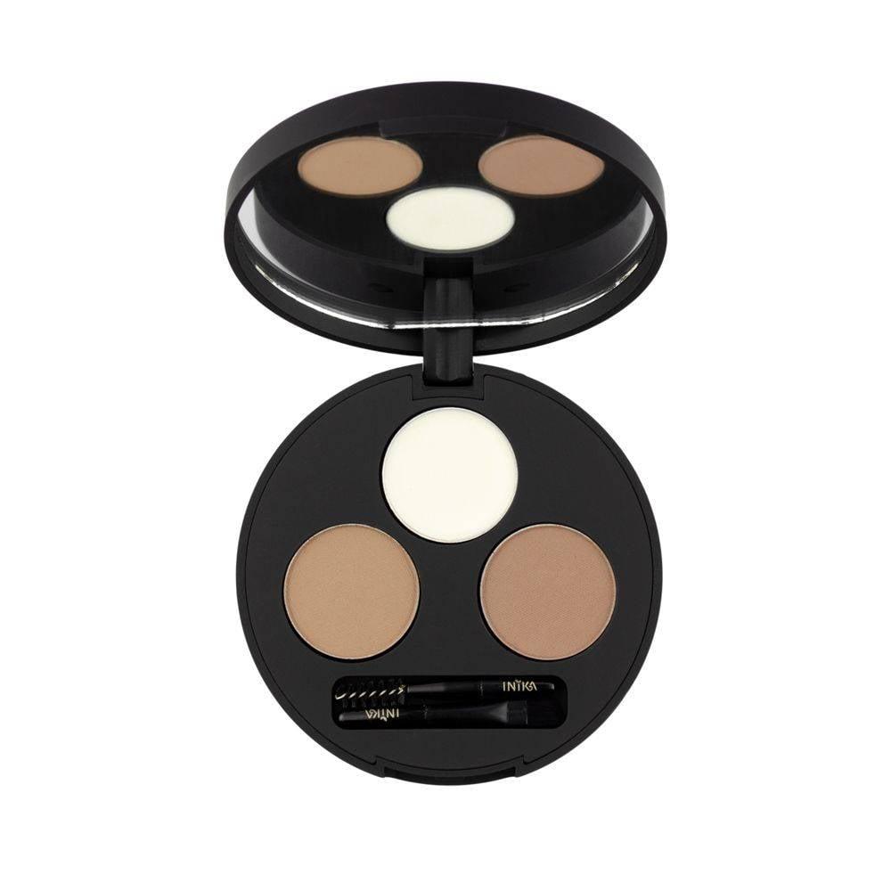 inika makeup inika organic brow define palette amb