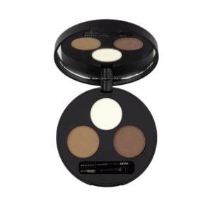 inika makeup inika organic brow define palette che