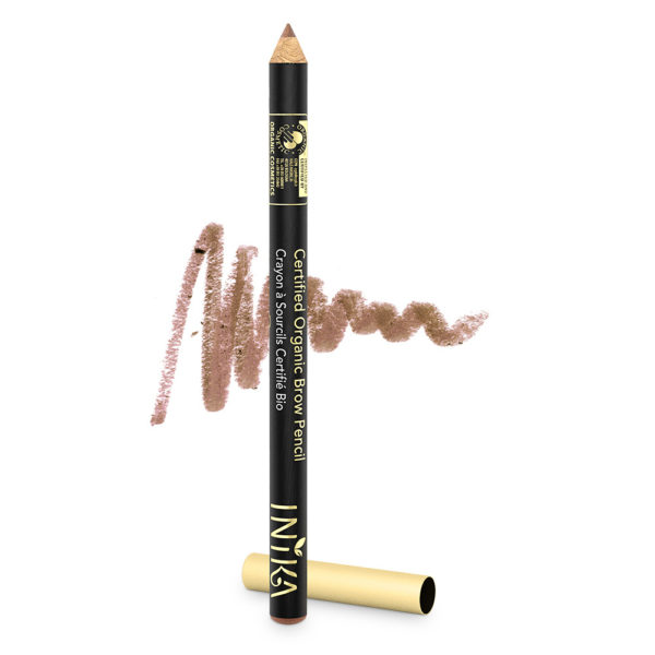 inika makeup inika organic brow pencil blonde bomb