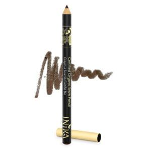 inika makeup inika organic brow pencil dark brunet