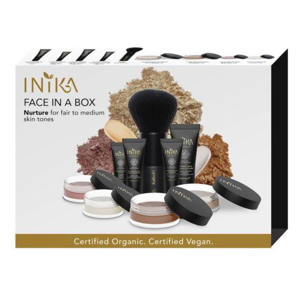 inika makeup inika organic face in a box starter nurture
