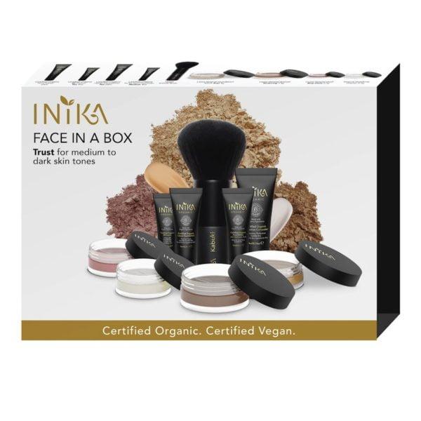 inika makeup inika organic face in a box starter trust