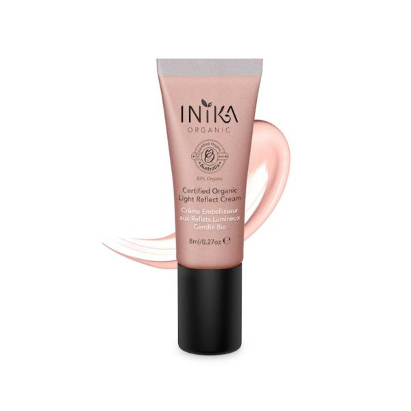 inika makeup inika organic light reflect cream