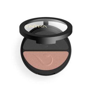 inika makeup inika organic pressed mineral eye black sand