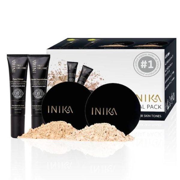inika makeup inika organic trial pack 1 light
