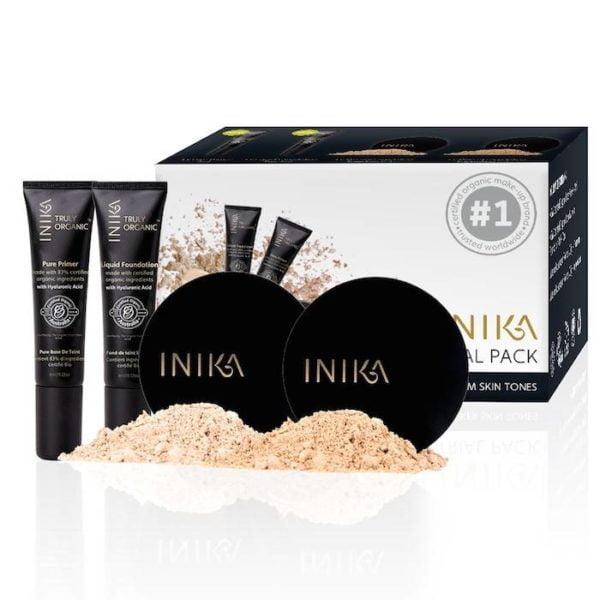 inika makeup inika organic trial pack 2 light medi