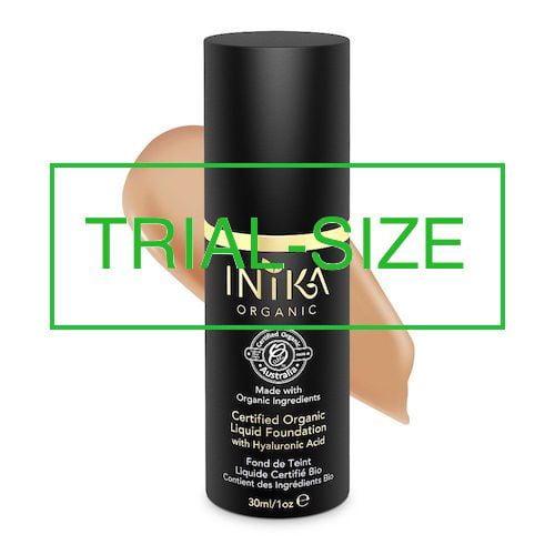 inika makeup inika organic trial size liquid found