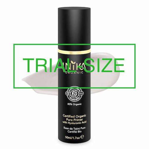 inika makeup inika organic trial size pure primer