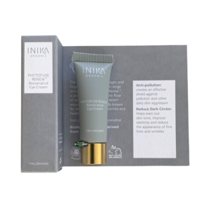 inika skincare phytofuse renew reservatrol eye cream travel size cosmic beauty zoetermeer