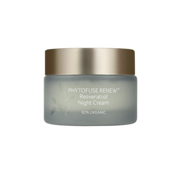 inika skincare phytofuse renew reservatrol night cream cosmic beauty zoetermeer