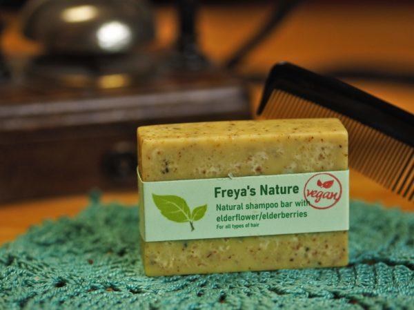 natural shampoo bar elderflower elderberries freya s nature cosmic beauty zoetermeer scaled