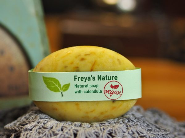 natural soap calendula cosmic beauty zoetermeer
