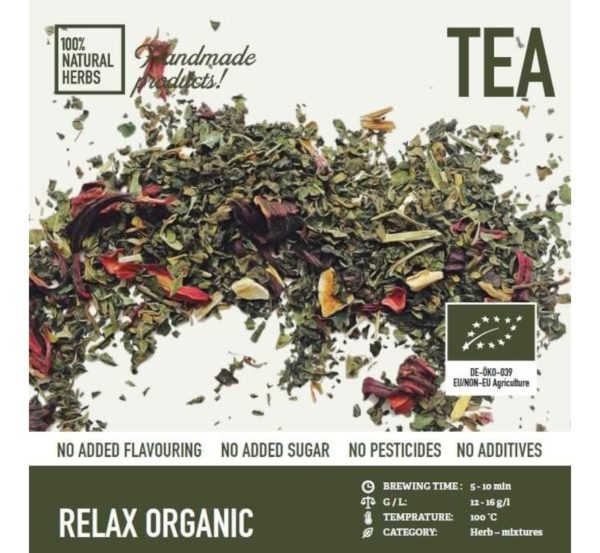 relax organic thee 1