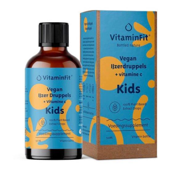 ijzer druppels voor baby kids 50 ml