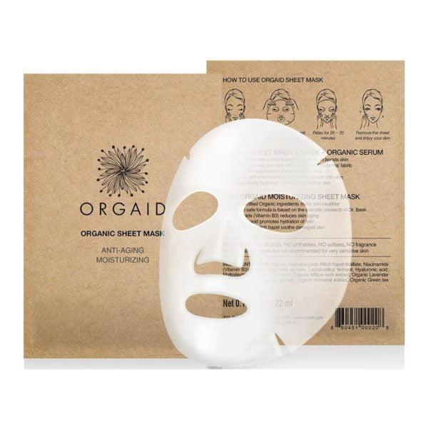 orgaid vliesmasker anti age