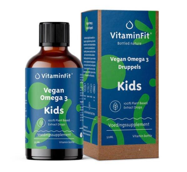 vegan omega 3 kids druppels 50 ml