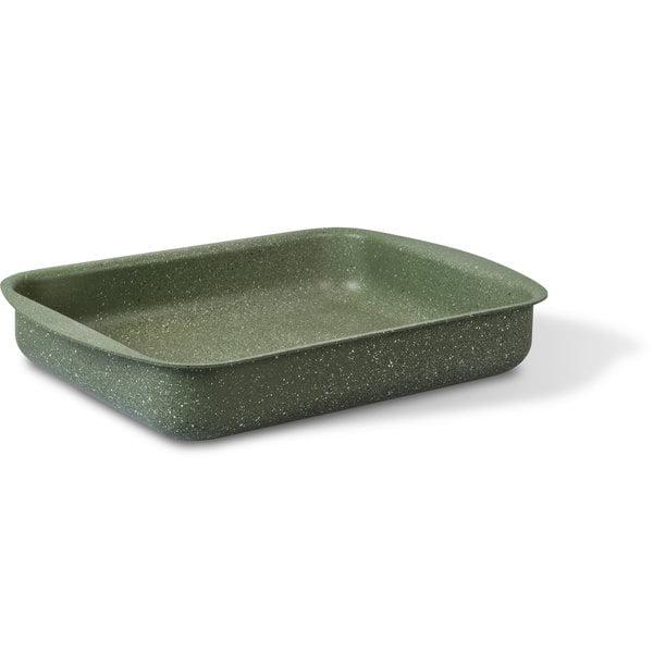 ovenschaal braadslede 35x27cm natura met vegan gro